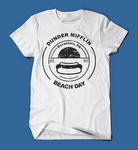 Dunder Mifflin Beach Day The Office White Men's/Unisex T-Shirt