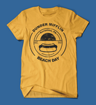Dunder Mifflin Beach Day The Office Yellow Men's/Unisex T-Shirt