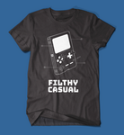 Filthy Casual Gameboy Black Men's/Unisex T-Shirt