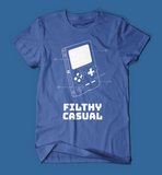 Filthy Casual Gameboy Blue Men's/Unisex T-Shirt
