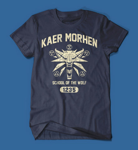 Kaer Morhen School of the Wolf - The Witcher Men's/Unisex T-Shirt