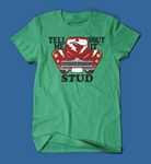Tell Me 'Bout it Stud Grease Men's/Unisex T-Shirt in Green