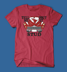 Tell Me 'Bout it Stud Grease Men's/Unisex T-Shirt in Red
