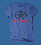 Toyoda Funny Star Wars Parody Men's/Unisex T-Shirt in Blue