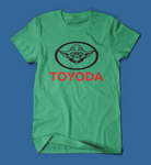 Toyoda Funny Star Wars Parody Men's/Unisex T-Shirt in Green