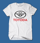 Toyoda Funny Star Wars Parody Men's/Unisex T-Shirt in White