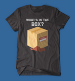 What's in the box Se7en Movie men's/unisex t-shirt in black