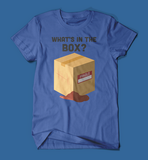 What's in the box Se7en Movie men's/unisex t-shirt in blue