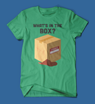 What's in the box Se7en Movie men's/unisex t-shirt in green