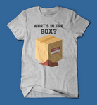 What's in the box Se7en Movie men's/unisex t-shirt in grey