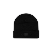THE BOSTON BLACK BEANIE - THE LABEL LTD