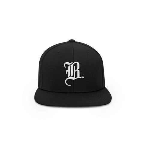 The OG B - Black Snapback Hat - THE LABEL LTD