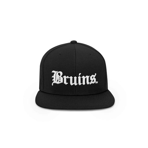 THE BOSTON HAT - BRUINS OG SNAPBACK W/ SIDE BOSTON BOX LOGO