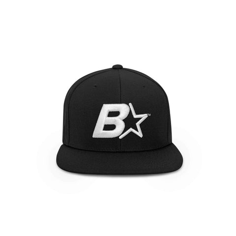 B-Star Snapback Hat Black - THE LABEL LTD