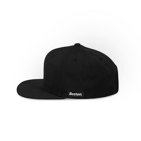 The Legends Hat Collection - Black & White Snapback Hat - THE LABEL LTD