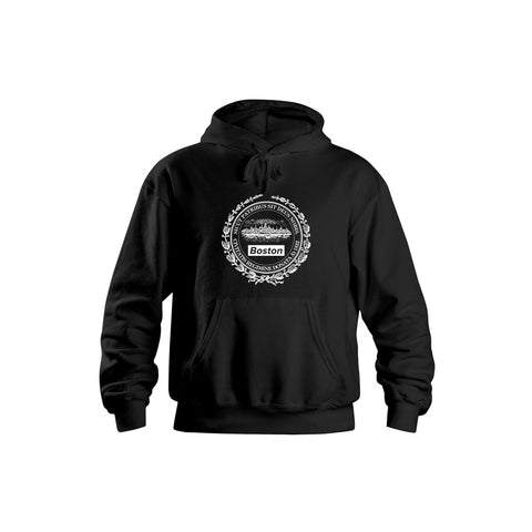 Boston Insignia SIDE ZIP® Hoodie - THE LABEL LTD