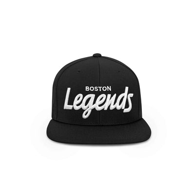 THE BOSTON LEGENDS HAT (BLACK AND WHITE)
