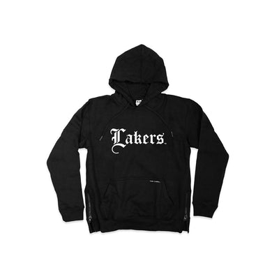 LAKERS SIDE ZIP® Hoodie - THE LABEL LTD