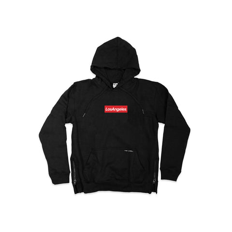 Los Angeles SIDE ZIP® Hoodie - THE LABEL LTD