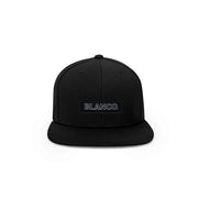 Blanco Box Logo Snapback Hat - THE LABEL LTD