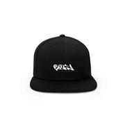 Boston Graffiti Box Logo Snapback Hat - THE LABEL LTD