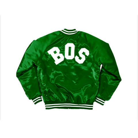 Green BOS Flight Jacket - THE LABEL LTD
