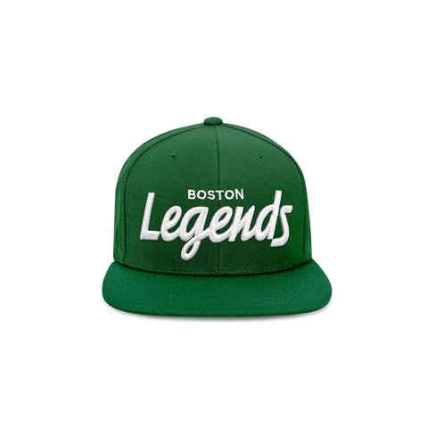 The Legends Hat Collection - Green & White Snapback Hat - THE LABEL LTD