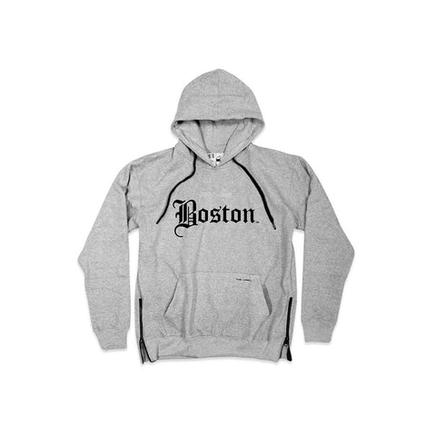 Boston OG SIDE ZIP® Hoodie - THE LABEL LTD