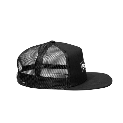 Black Box Logo Trucker Hat - THE LABEL LTD