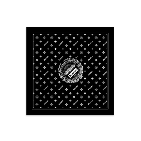 Boston Insignia Logo Stretch Bandana - THE LABEL LTD