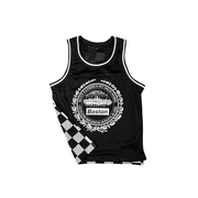Insignia Black and White Checkered Jersey - THE LABEL LTD
