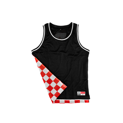 Boston Layered Back Basketball Jersey - THE LABEL LTD
