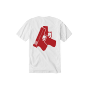 Red Glox Tee - THE LABEL LTD