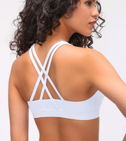 MCB / PF3 SPORTS BRA BLACK - THE LABEL LTD