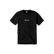 Boston Box Logo Black T-Shirt - THE LABEL LTD