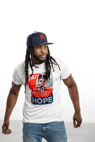 NEWTON HOPE PATRIOTS T-SHIRT - THE LABEL LTD