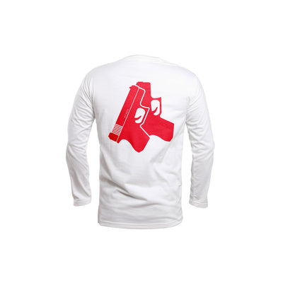 Red Glox Long Sleeve - THE LABEL LTD
