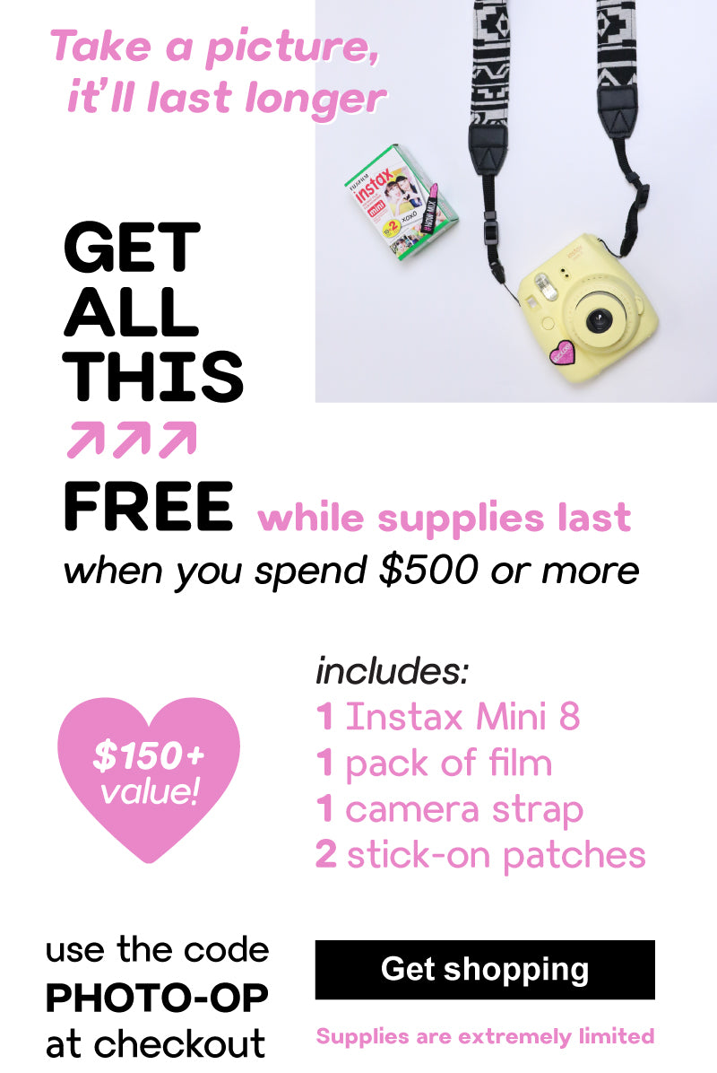 Get a free Instax!