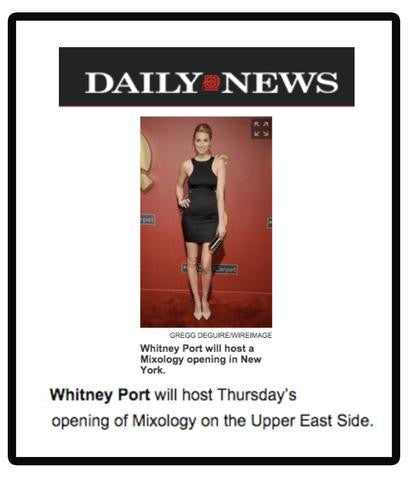Mixology in Daily News