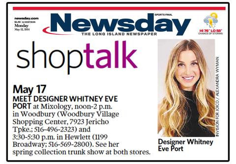 Mixology in Newsday