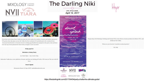 Mixology in The Darling Niki