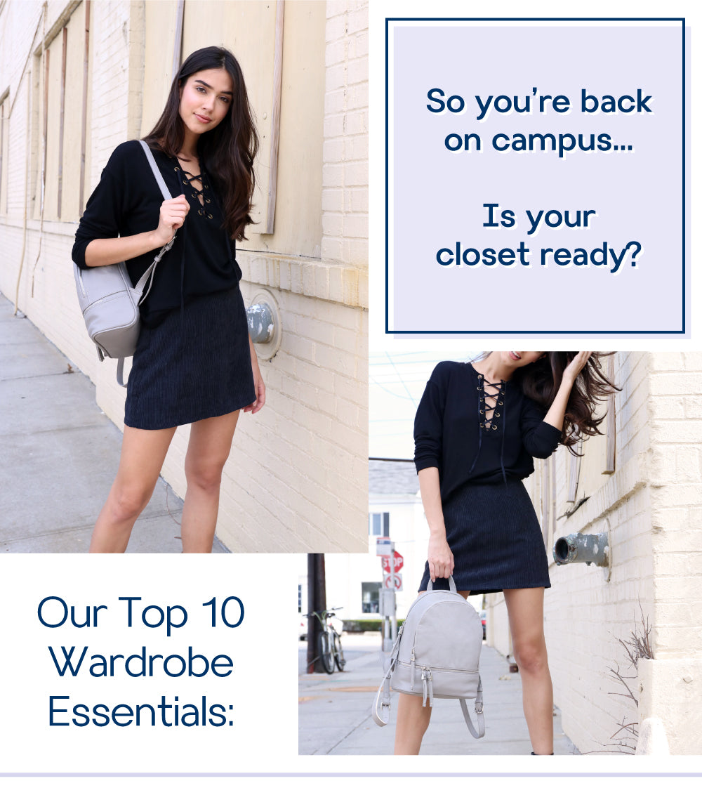 Our Top 10 Wardrobe Essentials