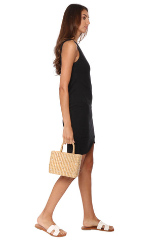 Jac Parker Basic Slub Tank Dress