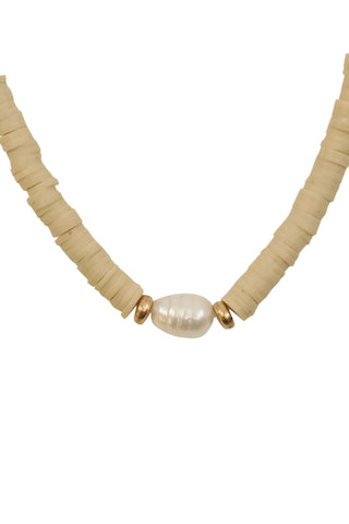Zoe Belle Bead Pearl Necklace
