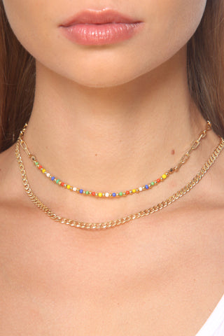 Zoe Belle Bead and Link Choker