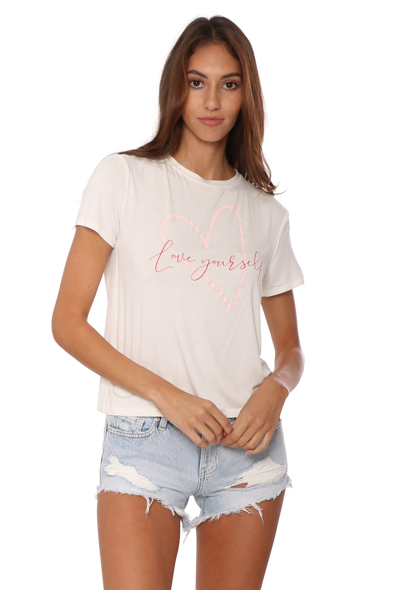 Sunday Stevens Love Yourself Tee