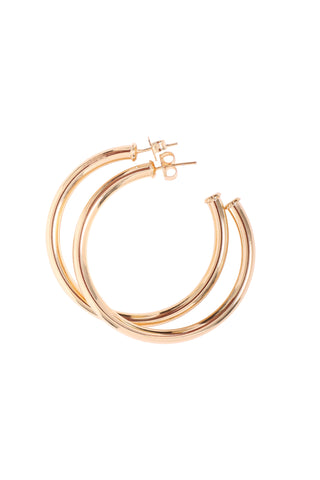Zoe Belle Large Thick Hoops