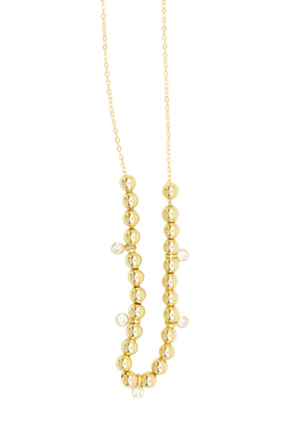 Zoe Belle Sliding Ball Necklace