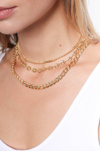 Zoe Belle Chunky Cuban Link Necklace
