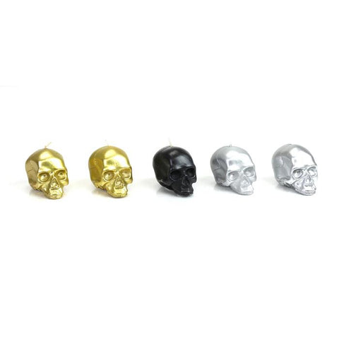 D.L. & Co Metallic Mini Skull Gift Set